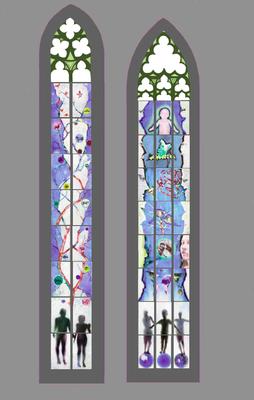 Projet finaliste commande publique - chapelle Sainte Catherine, Cathédrale de Strasbourg  - 2014