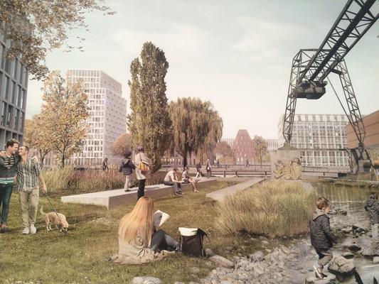 Industriespuren und Naturpark vereinen sich