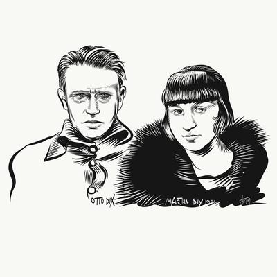 Otto und Maria Dix