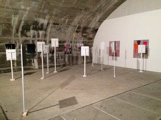 Installation View, reimt sich, Kunstverein Lola Montez, Frankfurt/M, 2017