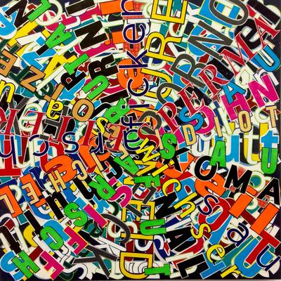 Tourette, 16, 50 x 50 cm, 2016