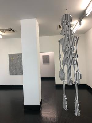 Installation View, Ja Nein, Galerie Kai Erdmann, Hamburg, 2019