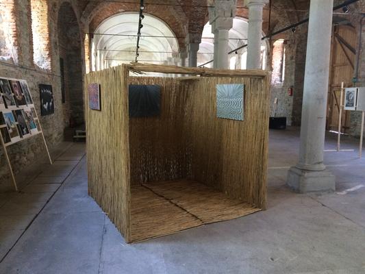 Installation View, Der apokalyptische Reiter, Hipp Halle, Gmunden