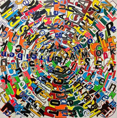 Roulette, 90 x 90 cm, 2017