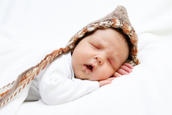 Spitalfotoshooting, Baby schläft, Reinach