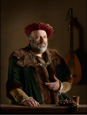 'living portraits' - 7 historical personalities - 7 unique stories Art project for the 500th anniversary of the reformation  7th: The savant Jodocus Willich Hair & makeup: Dab&Stroke