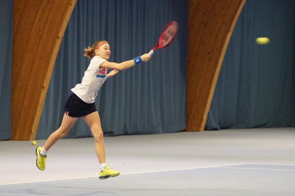 Januar 2019: Junioren-Schweizermeisterschaften GS14, Winter in Kriens LU