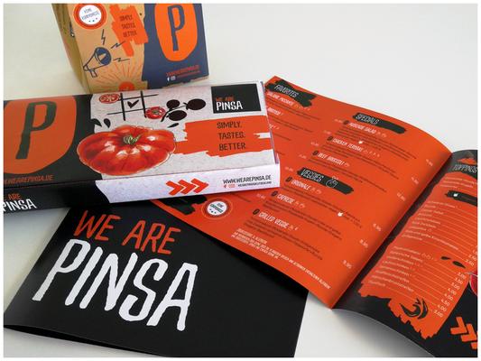 WE ARE PINSA - Logo und CI/CD