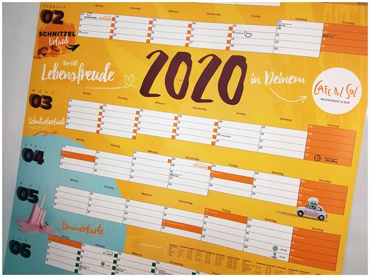 Kalender Cafe Del Sol