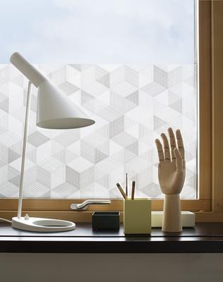 """Fensterfolie """"Graphite"""" von BY MAY, Sichtschutz, Klebefolie"""