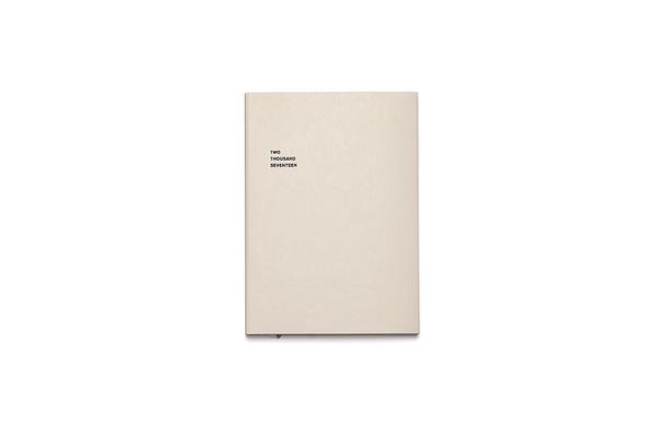 Classic-Edition Taschenkalender Marjolein Delhaas Edition Two Thousand Seventeen, 2017, limitierte Auflage