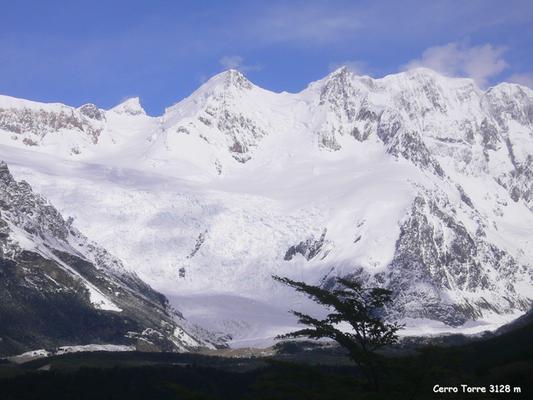 Bild: Cerro Torre, 3128 m