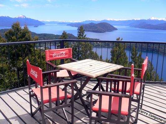 Bild: Restaurant auf dem Cerro Campanario