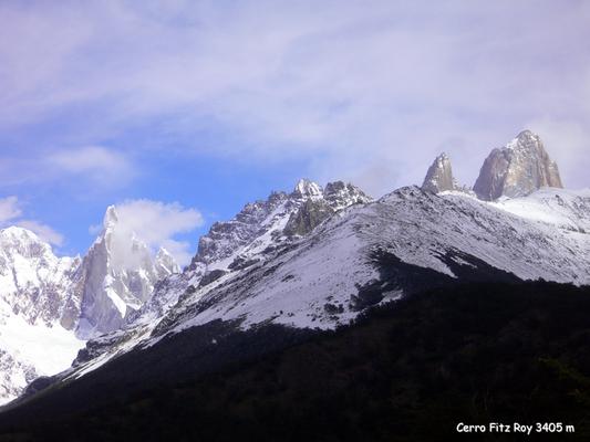 Bild: Cerro Fitz Roy, 3405 m