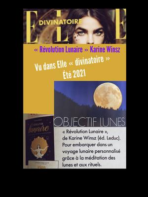 Vu dans le magazine ELLE divinatoire