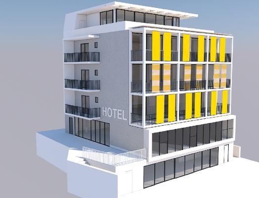 Hotel Wörthersee - Einreichplan - Ab Erbst Umbau