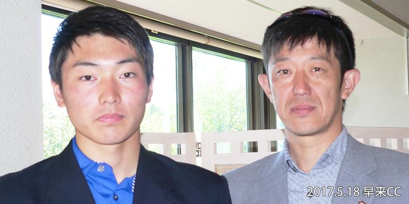 写真左から、1位 小村優太、2位 竹谷正義