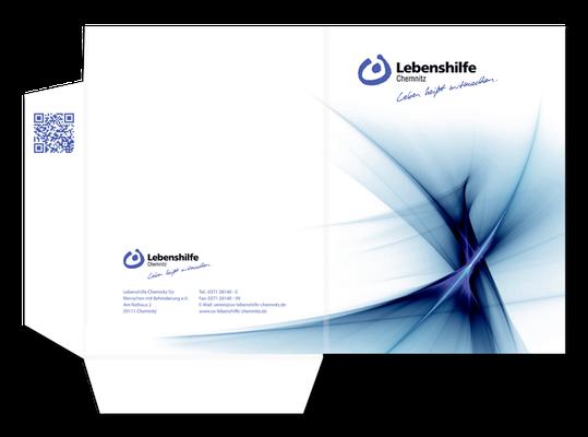Präsentationsmappe Lebenshilfe Chemnitz