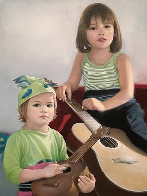 """Der Anfang der Erinnerung 4""<br>oil, canvas70x50cm<br>private collection"