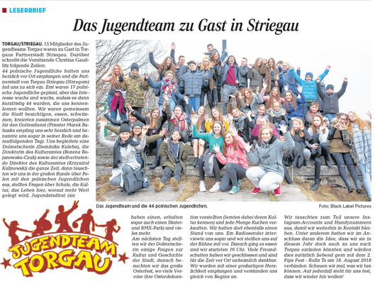 Torgauer Zeitung vom 29.03.2018