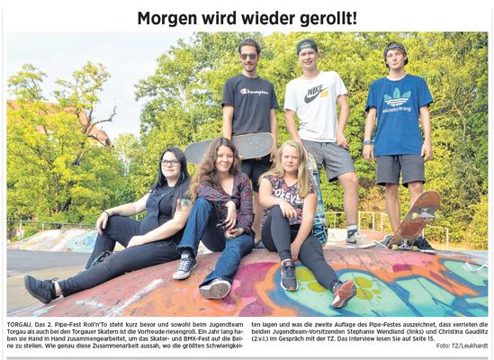 Torgauer Zeitung vom 17.08.2018