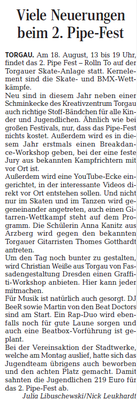 Torgauer Zeitung vom 09.05.2018