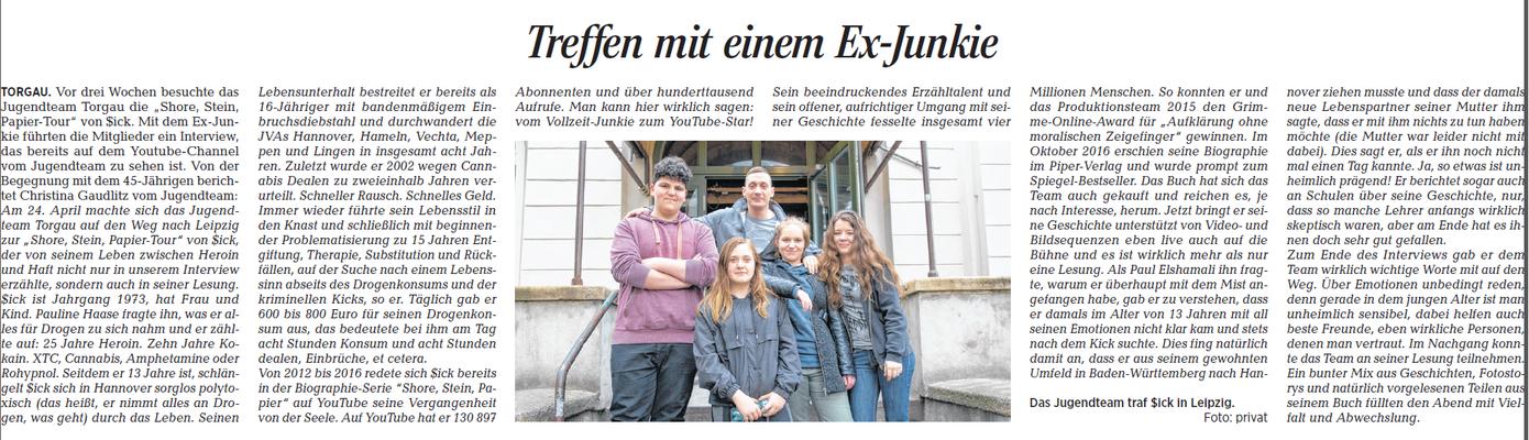 Torgauer Zeitung vom 17.05.2018