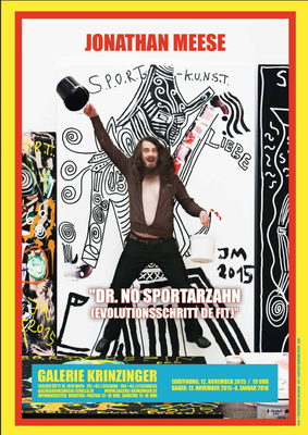 Jonathan Meese Poster Plakat S.P.O.R.T. 2