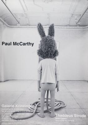 Paul McCarthy Plakat Poster Spaghetti Men
