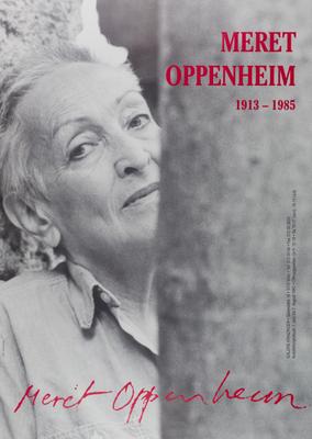 Meret Oppenheim Poster Plakat