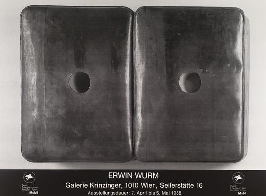 Erwin Wurm Poster Plakat