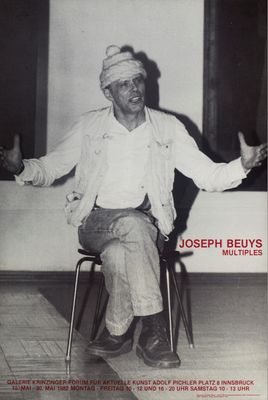 Joseph Beuys Poster Plakat mit Mütze