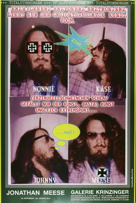 Jonathan Meese Poster Plakat Affiche