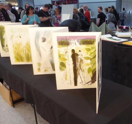 Leipziger Buchmesse 2017, Neuhauser Kunstmühle, Halle 3, Stand H 502