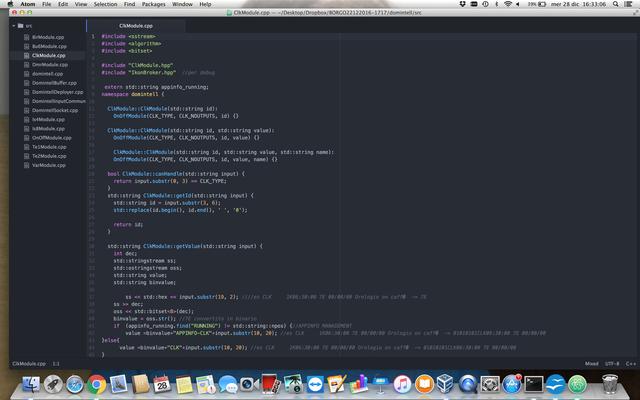 Codice C++ sviluppo driver vs Ikon server