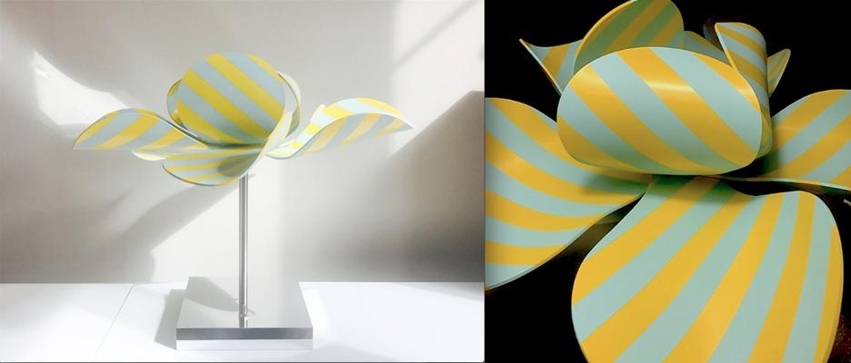 Bloomboom - Lampe Fleur, Flowerlamp, made in France, artisanal, exposition, Design Fair Paris, interieor design, décor, luminaires, made in france, création François-Marie Gérard et Irma Birka
