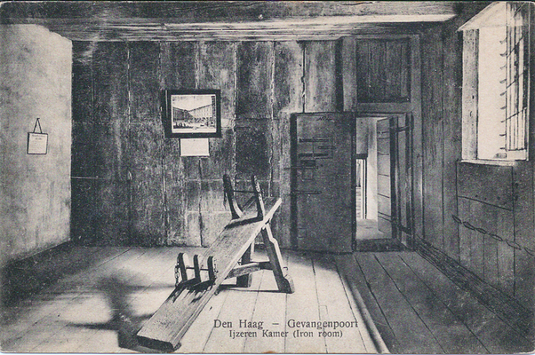 Ansichtkaart Gevangenpoort Den Haag 04