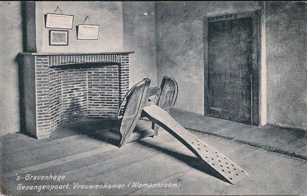 Ansichtkaart Gevangenpoort Den Haag 05