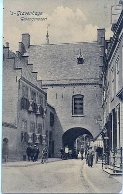 Ansichtkaart Gevangenpoort Den Haag 28