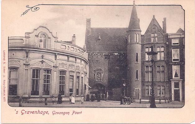 Ansichtkaart Gevangenpoort Den Haag 06