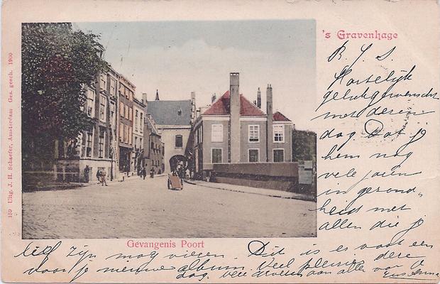 Ansichtkaart Gevangenpoort Den Haag 08