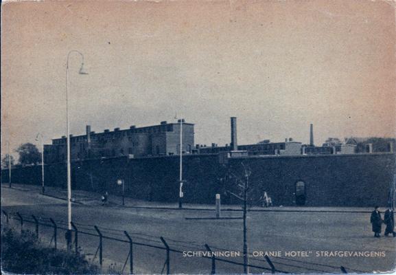 Ansichtkaart Gevangenis Scheveningen