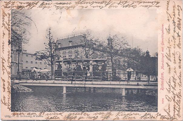 Ansichtkaart gevangenis Rotterdam