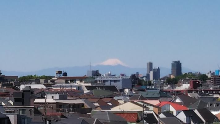晴れた日には富士山を望めます  菱和パレス中目黒/株式会社クレアスコミュニティー
