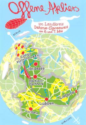 Offene Ateliers 2017 im Landkreis Dahme-Spreewald