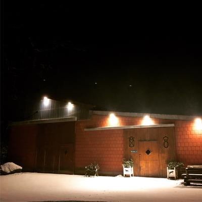 Die Anlage ist auch im dunkeln gut zu finden (Foto: Susannah Bock)