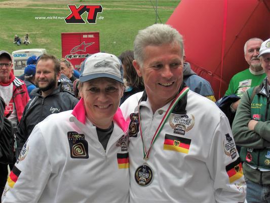 Dakar-Legenden - auch in der zweiten Reihe.