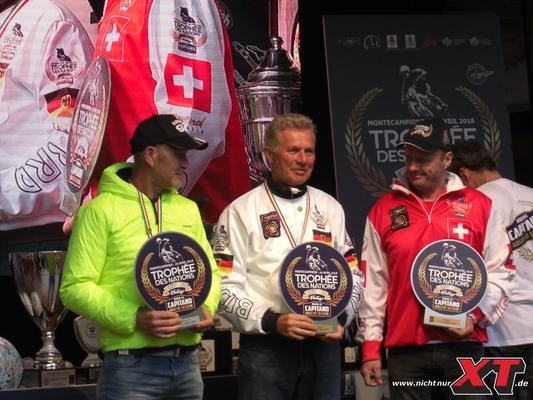 Die 4-Takter:  Maurizio Cecconi / BMW, Eddy Hau / YAM & Philip Rast / HUS