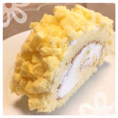ミモザロールケーキ