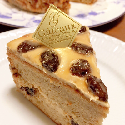 コーヒーのバターケーキ